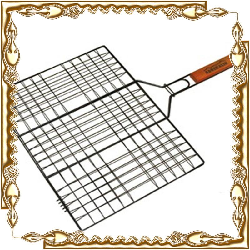 Решетка для гриля и барбекю Stenson, плоская мал. 58*34*22 см. МН- 0160