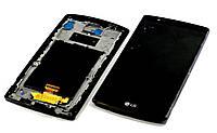 Модуль LG F500/H810/H811/H815/H818N/H818P/LS991/VS986 в рамке black h.c.