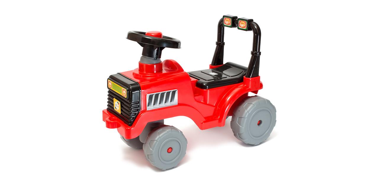 Машина для катання Бебі трактор 931 Червоний