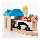 Железная дорога IKEA LILLABO комплект из 45 предметов поезд и рельсы 203.300.66, фото 3
