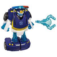 Playskool Heroes Трансформер Бот Чейз полицейский Transformers Rescue Bots Energize Chase the Police-Bot, фото 1