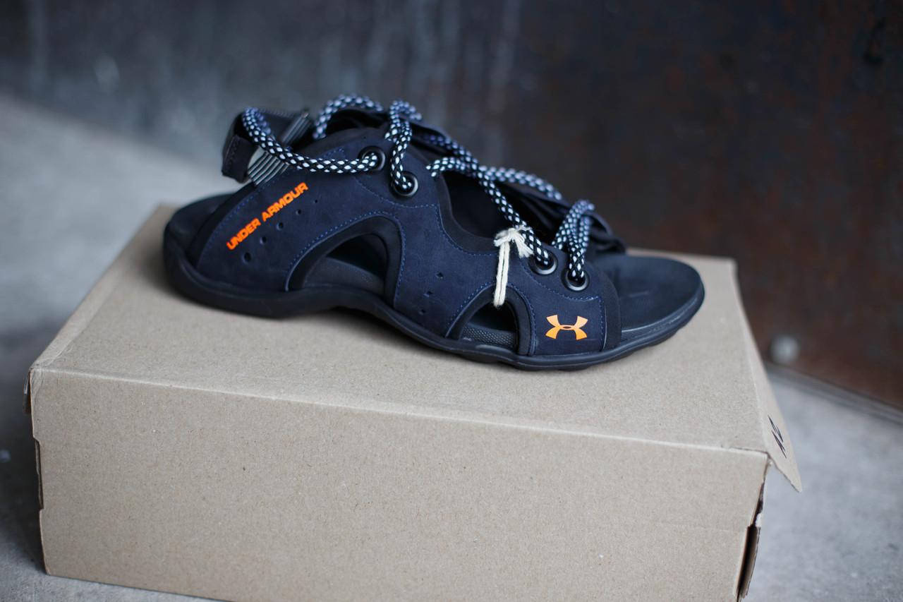 Кожаные мужские сандалии Under Armour