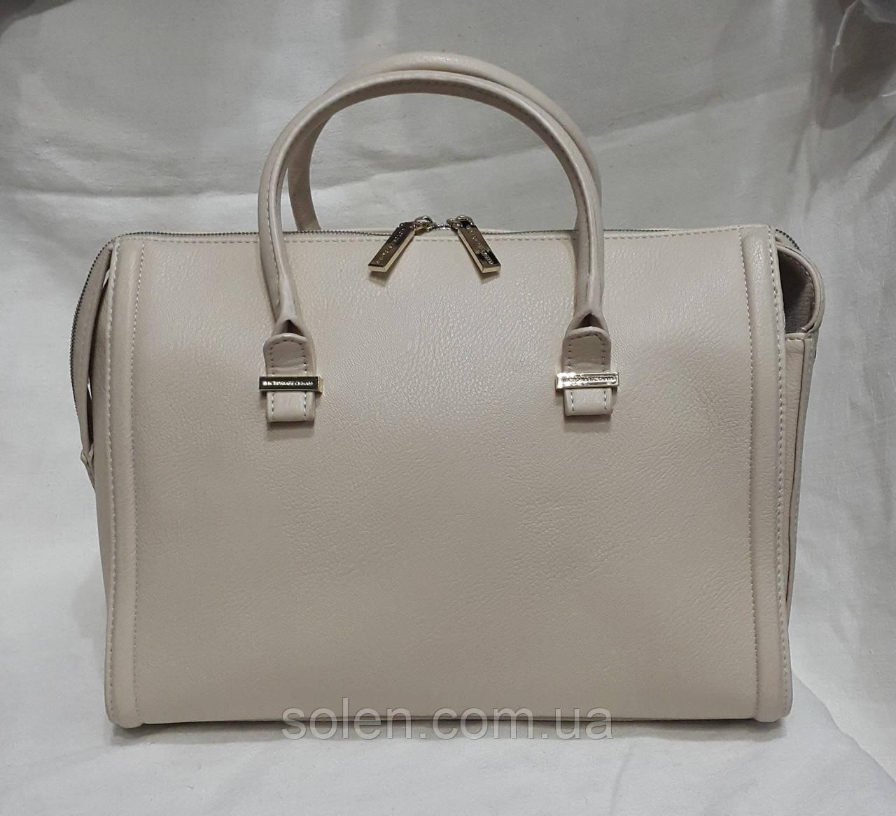 Жіноча сумка зі шкірозамінника.Стильна,модна сумка.