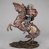 Статуэтка Наполеон на коне Veronese (28 см) 72854 A4 Италия