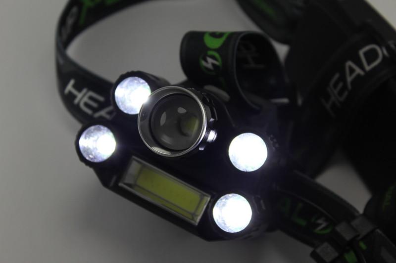 Налобний ліхтарик Bailong BL-T67-T6