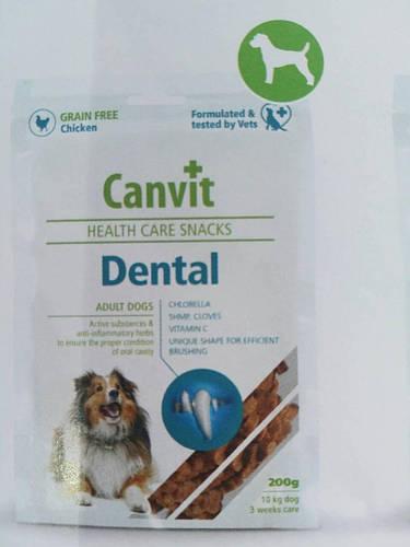 Canvit Dental (Канвит Дентал) полувлажное функциональное лакомство для собак 200 г