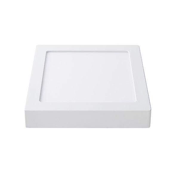Накладной светодиодный светильник Delux 12Вт квадрат