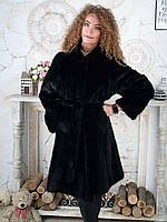 Норкова шуба 50 52 жіноча великого розміру купити недорого розпродаж