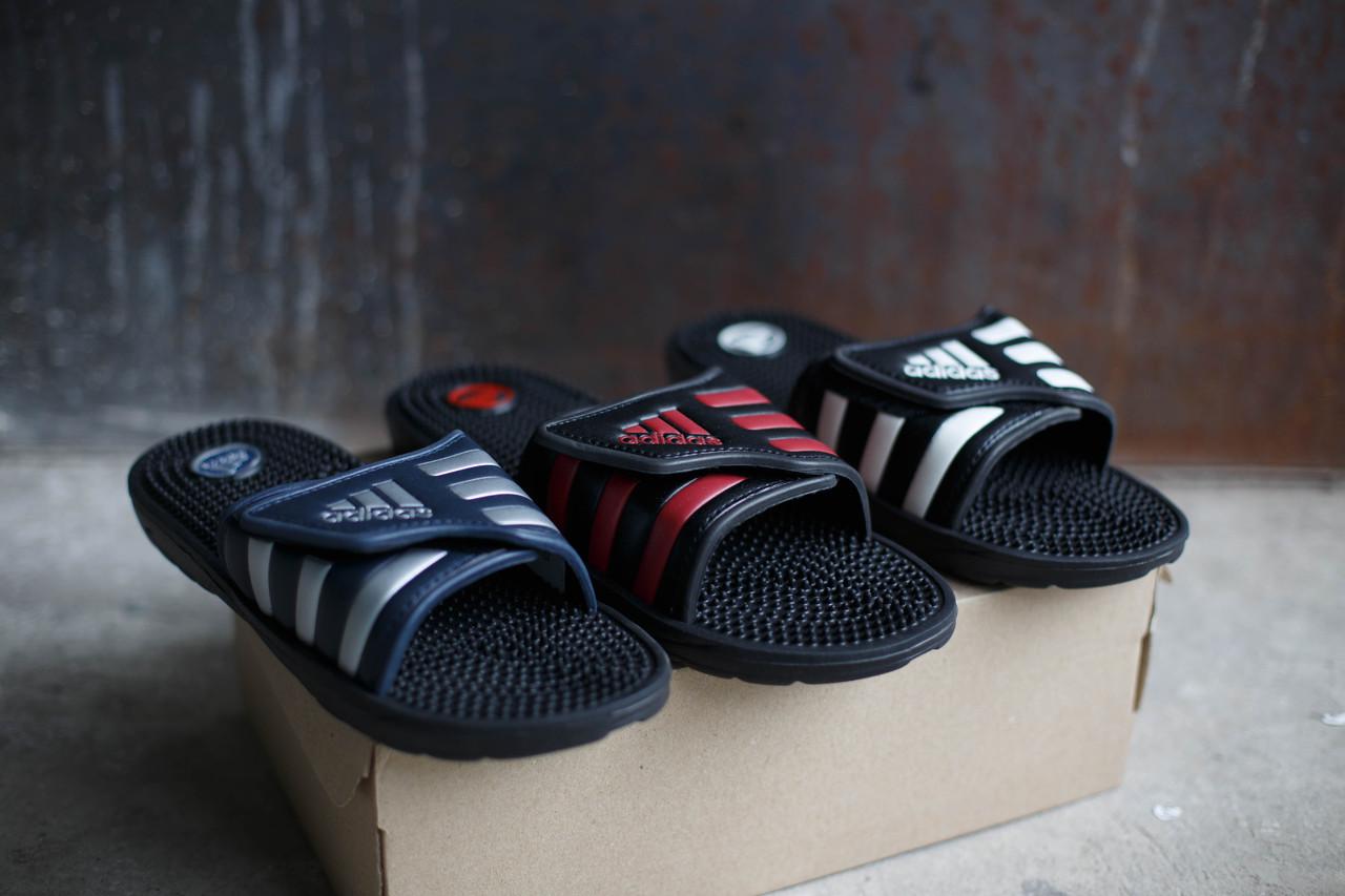 Шлепанцы Adidas липучка и без липучки