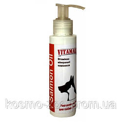 Лососевое масло ВитамОлл (VitamAll Salmon Oil) 100 мл