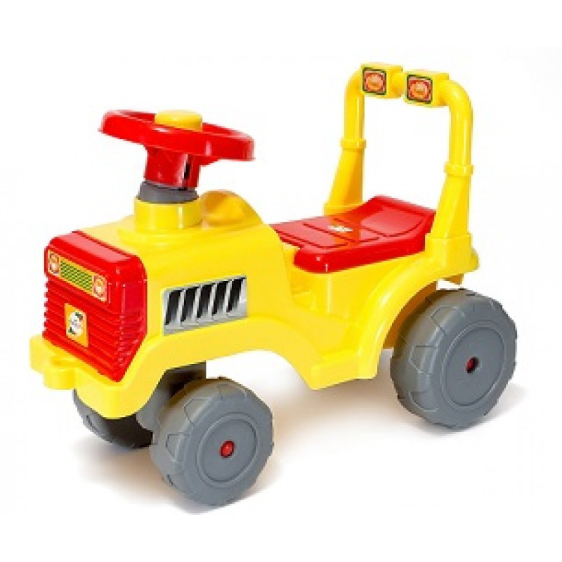 Машина для катання Бебі трактор 931 Жовтий