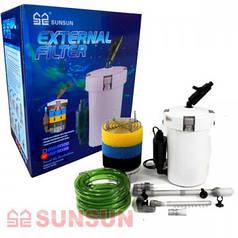 SunSun фильтр внешний для аквариума HW-603B, 400 л/ч