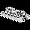 Сетевой электрический фильтр - удлинитель 5 розеток 10 м LP-X5, 10m серый