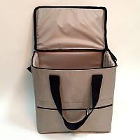 Термосумка (сумка-холодильник, термобокс) для еды и бутылочек с ручками 10л OSPORT (FI-0125)
