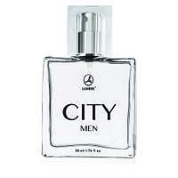 """Мужская туалетная вода """"City Men"""" Lambre / Ламбре 50 ml"""
