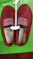 Чешки Кожаные Красные (матовые, лаковые и вышиванка), фото 1