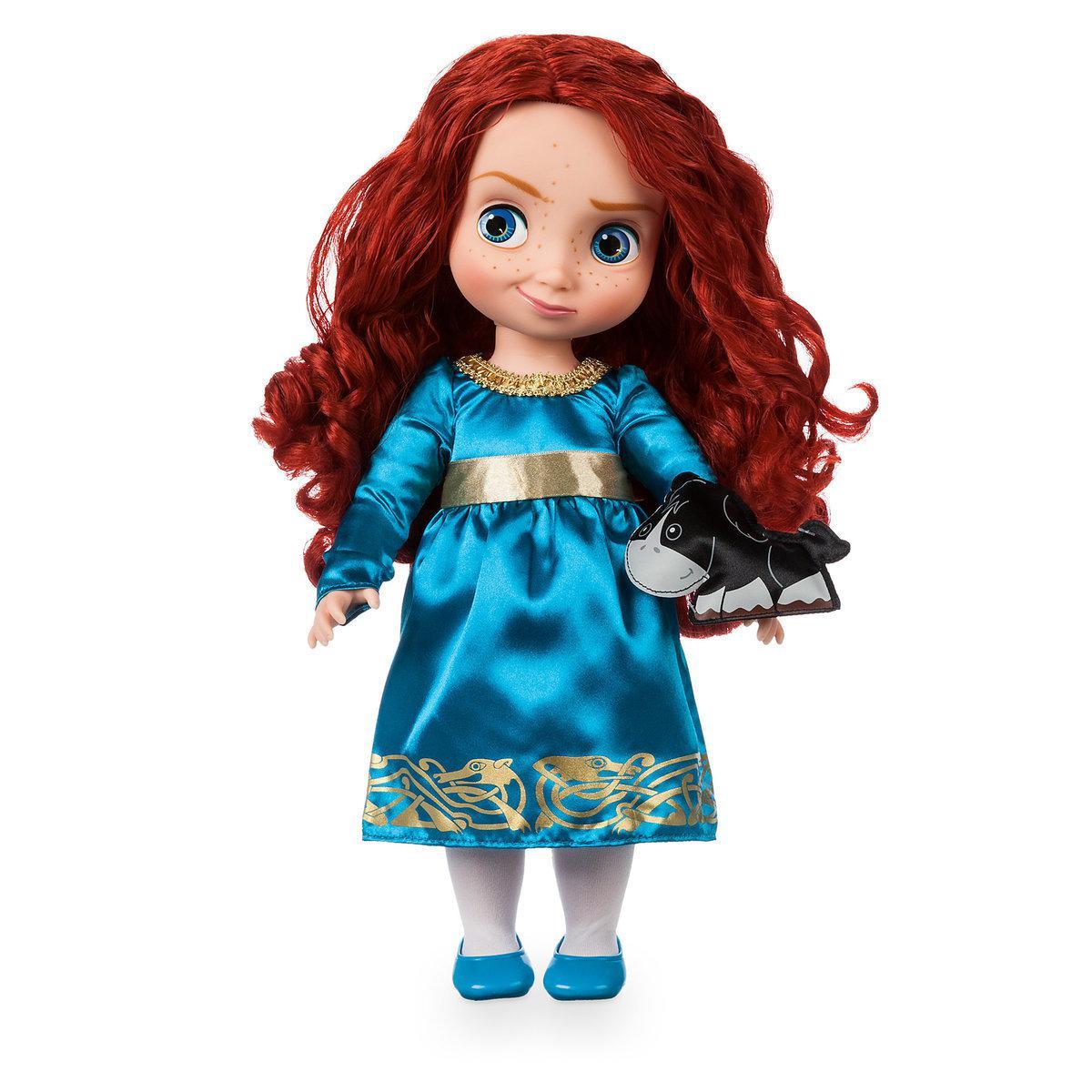 Disney Animators Дисней Аниматор Кукла принцесса малышка Мерида