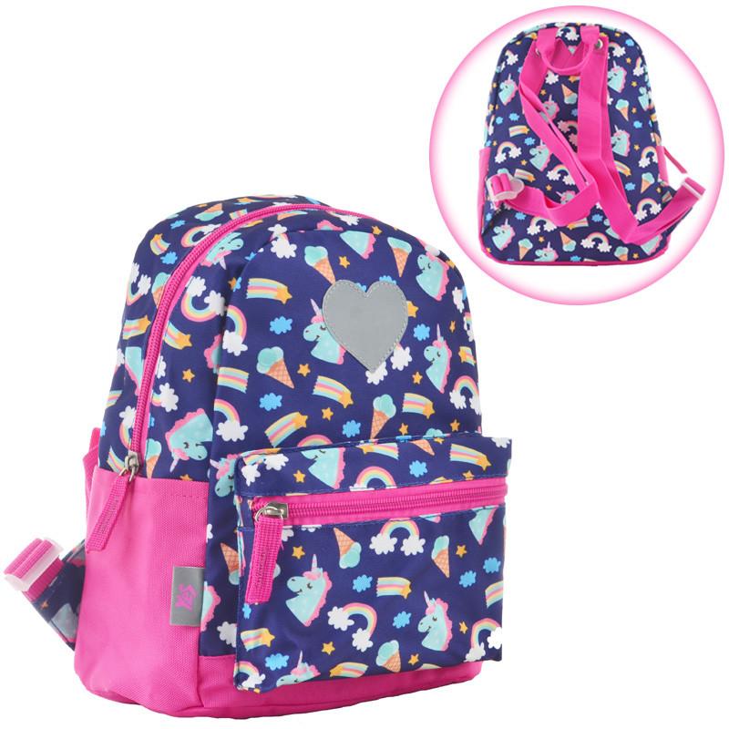 Рюкзак детский K-19 Unicorn, 24.5*20*11