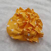 """Трусики под памперс (размер от 3 мес до 1.5 года) — """"Желтые"""" со звездочками, фото 1"""