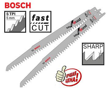 Пиляльне сабельное полотно по дереву Bosch Top for Wood S 1531 L 2шт