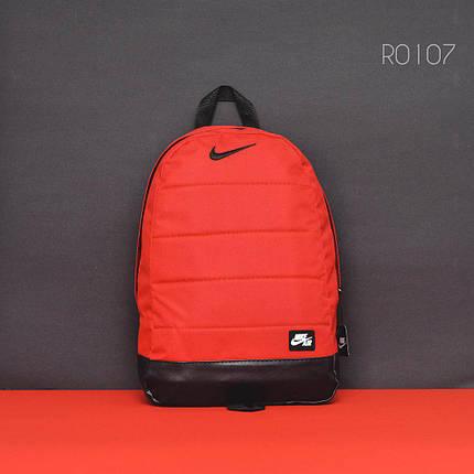 Красный спортивный рюкзак NK red&black, фото 2