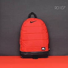 Красный спортивный рюкзак NK red&black
