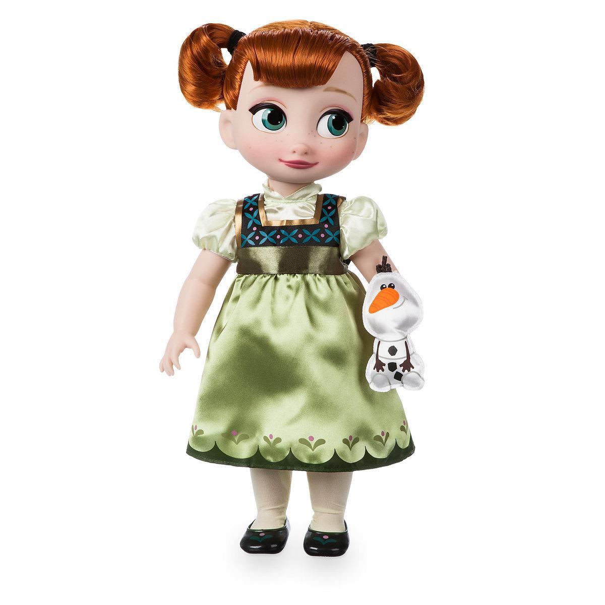 Disney Animators Дисней Аниматор Кукла принцесса малышка Анна