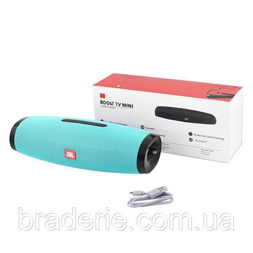 Портативная колонка Boost TV mini bluetooth с USB и microSD
