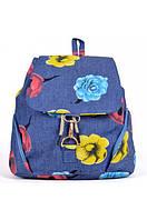 Рюкзак джинсовый с декором 604