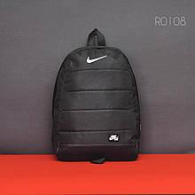 Черный спортивный рюкзак NK black