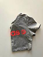 Серая футболка ADIDAS для девочки