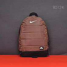 Коричневый спортивный рюкзак NK brown