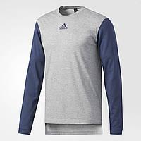 Футболка с длинным рукавом лонгслив adidas Essentials Holiday Tee BR3420
