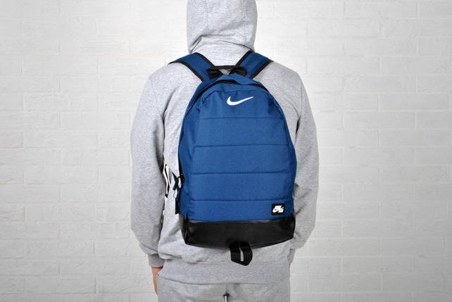 Синий спортивный рюкзак NK blue&black, фото 2