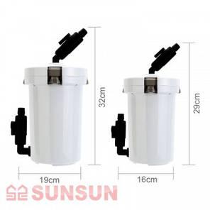 SunSun фильтр внешний для аквариума HW-602B, 400 л/ч , фото 2