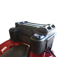 Кофр пластиковый на задний багажник HEBE + канистра в подарок