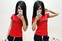 Стильная футболка VOGUE, размеры S M L XL 2ХЛ 3ХЛ Турция, фото 3