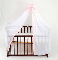 Балдахин на детскую кровать ТМ Алекс Б/4/002 Розовый