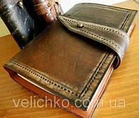 Кожаный блокнот для зарисовок, фото 1