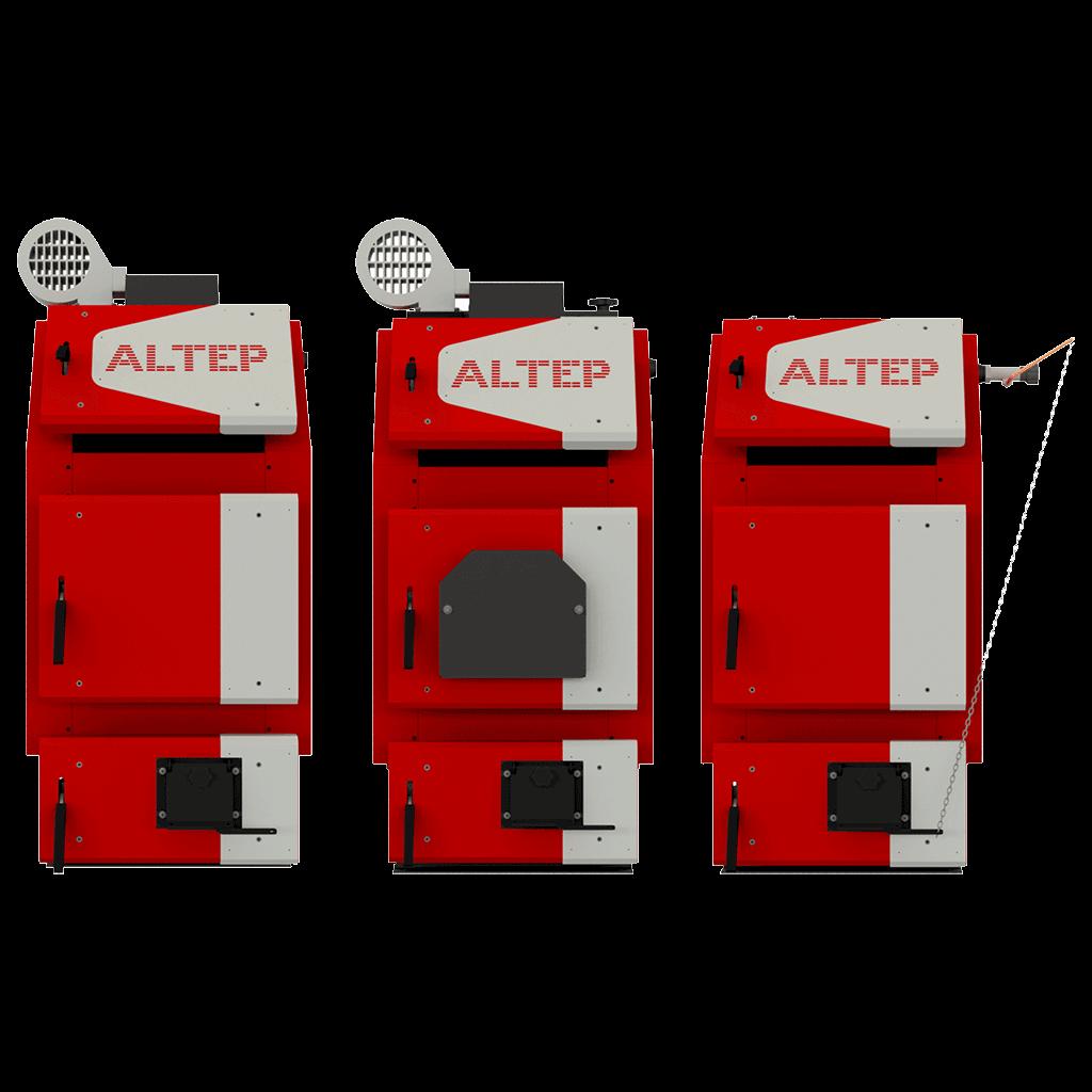 Твердотопливные котлы Altep TRIO UNI PLUS 30 кВт (Украина)