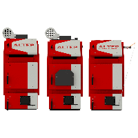 Твердотопливные котлы Altep TRIO UNI PLUS 30 кВт (Украина), фото 1