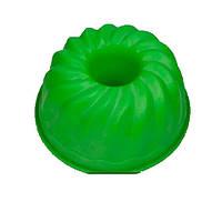 """Силіконова форма для випічки """"Кекс з втулкою"""" 25 см 10 см"""