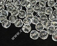 31977 Шар, декоративный акриловый кристалл, размеры ~ 2 см х 2 см, 500 гр