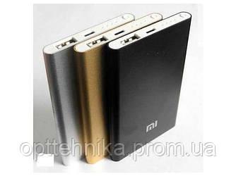 Power Bank SLIM Xiaomi COPY 12000 mAh silver-компактное зарядное устройство