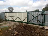 Ворота консольные откатные (просвет 6 м)