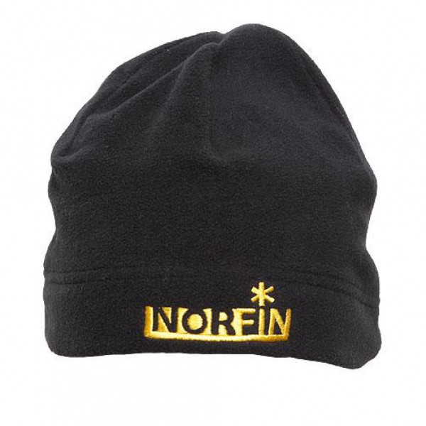 Шапка флисовая Norfin FLEECE (чёрная)