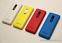 Корпус Nokia 206 Asha, черный