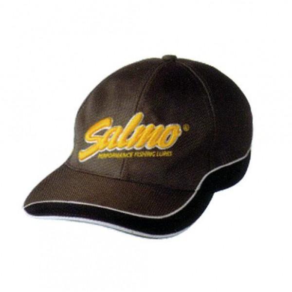 Бейсболка SALMO PL (серая с логотипом) CAP3