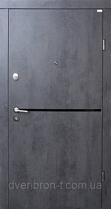 Стандарт Лита Black бетон темный 960х2050, фото 2