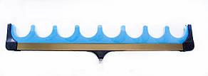 Підставка фідерна гребінка на вісім вудилищ